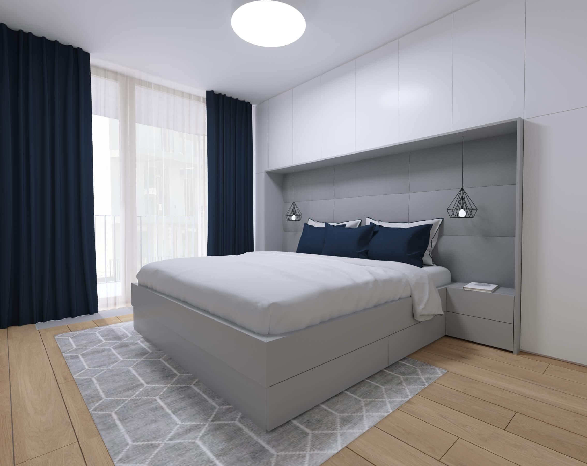 moderné zariadenie bytu spálňa Nido byty, Bratislava